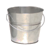 2 Qt. Galvanized Steel Pail