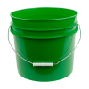 Green 3.5 Gallon HDPE Bucket