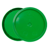 Green 3.5 to 5.25 Gallon HDPE Lid with Tear Tab