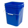 Economy Blue 4 Gallon Square Bucket
