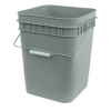 Economy Gray 4 Gallon Square Bucket