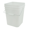 Economy Natural 4 Gallon Square Bucket