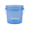 Translucent Blue 1 Gallon Pail