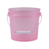 Translucent Pink 1 Gallon Pail