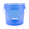 Translucent Blue 3.5 Gallon Pail