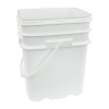 5.3 Gallon White EZ Stor Pail with Handle