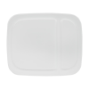 White Hinged Lid for 3 & 3.5 Gallon EZ Stor Pail