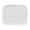 White Hinged Lid for 4 & 5.3 Gallon EZ Stor Pail