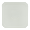 natural 4 gallon square bucket lid