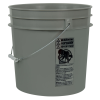 Gray 4.25 Gallon HDPE Bucket