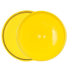 Yellow 2 Gallon Lid with Tear Tab