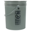 Letica® Standard Gray 5 Gallon Bucket