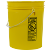 Letica® Standard Yellow 5 Gallon Bucket