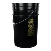 Black 6-1/2 Gallon Bucket