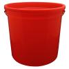Leaktite® 10 Qt. Red Reinforced Rim Pail