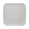 Letica® 3-1/2, 4 & 4-1/4 Gallon Natural HDPE Square Lid