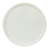 White Lid for 3-1/2 to 4-1/4 Gallon Bucket