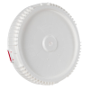 White Cover for Life Latch® 10.7 Gallon Plastic Drum (5500)