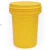 30 Gallon Lab Pack Poly Drum with Screw On Lid