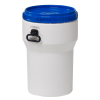 10.6 Gallon Nestable UN Rated HDPE Drum w/ Lid