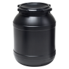 6.9 Gallon Wide Mouth Stackable HDPE Drum w/ Lid