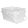 1 Gallon/4 Liter InPack Polypropylene Rectangular Pail with Handle