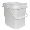 2 Gallon/8 Liter InPack Polypropylene Rectangular Pail with Handle