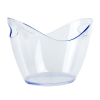 4L Clear Premium Ice Bucket
