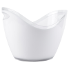 8L White Premium Ice Bucket