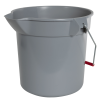 Brute® Gray 10 Quart Bucket