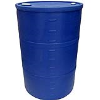 "55 Gallon Blue Closed Head Drum 23.25"" Dia. x 35"" H"