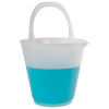 12 Liter Polypropylene Graduated Autoclavable Sprout Bucket