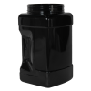 128 oz. (1 Gallon) Black PET Pinch Grip-It Jars with 120mm Neck (Cap Sold Separately)