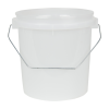 VaporLock Translucent 1 Gallon Bucket (Lid Sold Separately)