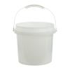 Natural 2 Gallon SmartPak® Medium Duty HDPE Bucket