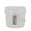 Natural 3-1/2 Gallon SmartPak® Medium Duty HDPE Bucket