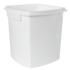 1.3 Gallon/5 Liter Polypropylene TrustPack+ Square Pail with Handle (Lid Sold Separately)