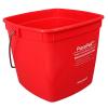 3 Quart Red PuraPail™ Utility Pail - Sanitizer Imprint