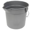 10 Quart Gray Deluxe Heavy Duty Bucket