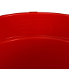 10 Quart Red Deluxe Heavy Duty Bucket - Sanitizer Imprint