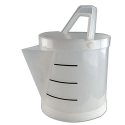 Tamco® Polypropylene 3.5 Acid Gallon Bucket with Spout
