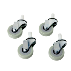 Set of 4 Metal Casters