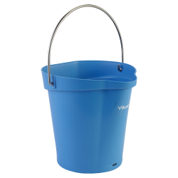 Vikan® Polypropylene Blue 1.5 Gallon Pail