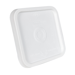 30 Series White Square Easy-to-Open Lid