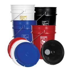 Premium 20 Liter Buckets & Lids