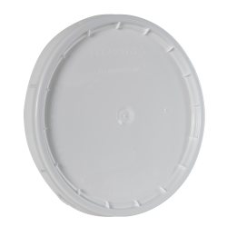 White Lid with Gasket for 3.5 Gallon Pail