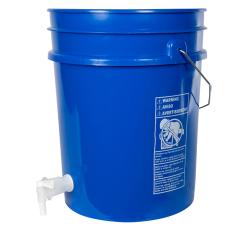 Premium Blue 5 Gallon Tamco® Modified Bucket with Spigot
