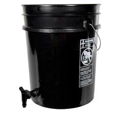 Premium Black 5 Gallon Tamco® Modified Bucket with Spigot