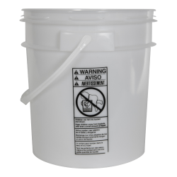 Smart Seal™ Natural 4 Gallon Bucket