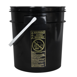 Smart Seal™ Black 4 Gallon Bucket